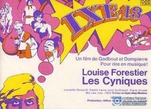 Carton d'invitation de IXE-13 [FILM] (Canada : Québec, Jacques Godbout, 1971), Cinémathèque québécoise, 2005.0548.30.AR